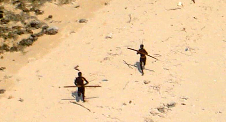 Sentinelese people attacked helicopter